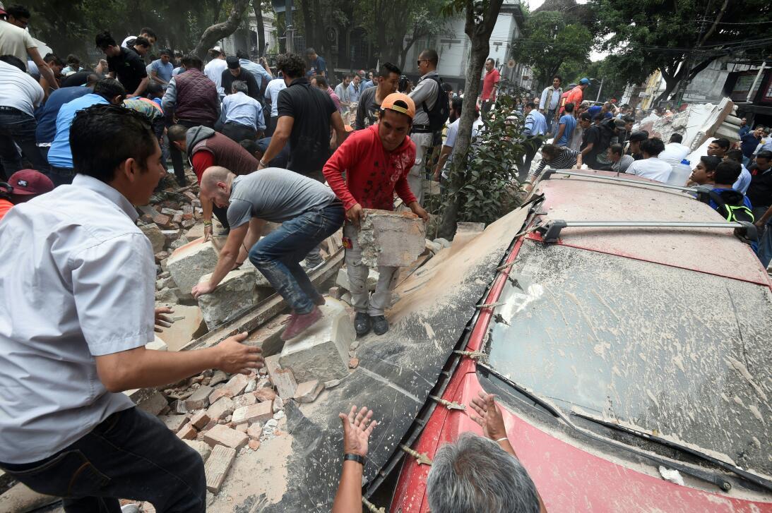 Según medios locales, hay zonas del centro de Ciudad de México con vivie...
