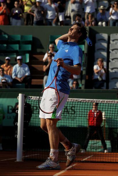 En el court Suzanne Lenglen dominó Murray, cuarto sembrado, con parciale...