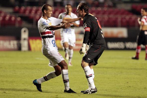 Gran debut de Rivaldo en el Sao Paulo en el marco del torneo paulista. J...