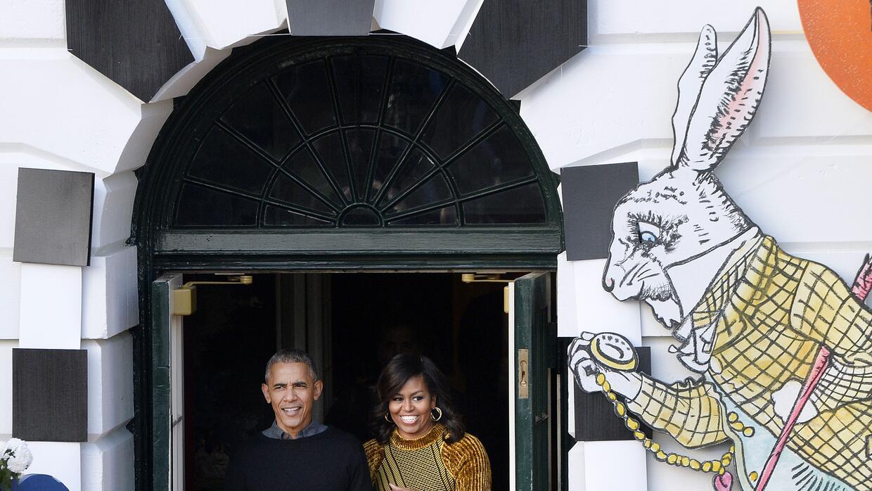Así fue el último Halloween de los Obama en la Casa Blanca