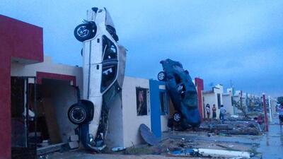 Tornado en México deja varios muertos