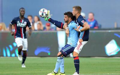 David Villa ante New England Revolution