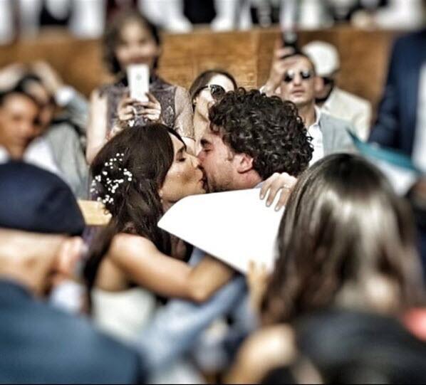 Adriana Louvier boda Guto Salas