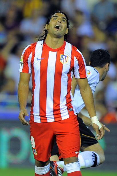 Radamel, ahora con el Atlético de Madrid español, tuvo un excelente part...