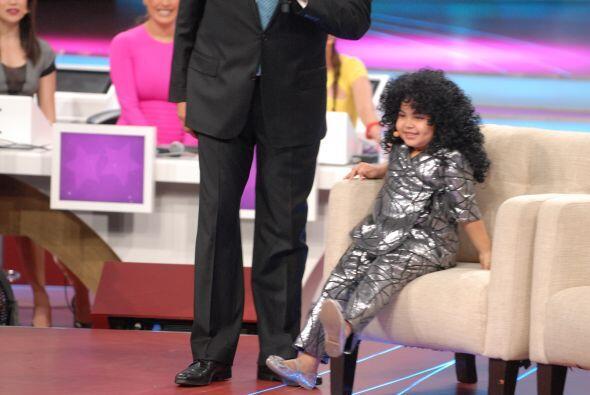 Gran asombró causó ver a Amanda Miguel en el escenario de Pequeños Gigan...