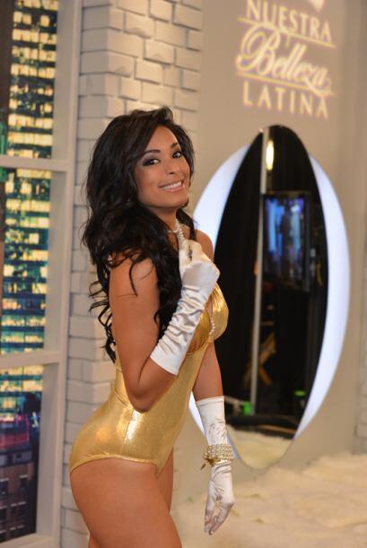 Geisha Montes de República Dominicana, audicionó en Miami. Ella es una d...