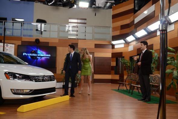 """""""El carro quedó muy bien, los actores no tanto"""", dijo Shanik, quien siem..."""