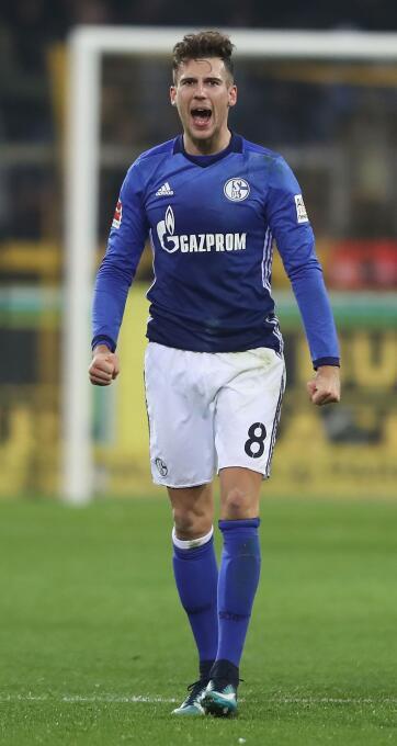 El joven Leon Goretzka está cada vez más cerca de unirse al Bayern Múnic...