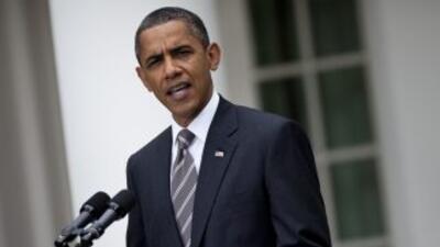 El presidente Barack Obama llamó a republicanos y demócratas a realizar...