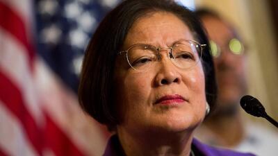 Mazie Hirono es el sexto senador demócrata que le pide a Trump su...
