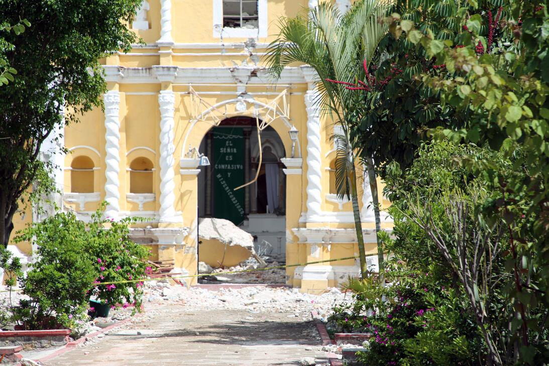 Lo que quedó de la Iglesia de Atzala, el templo mexicano más devastado p...