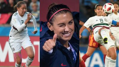 En fotos: dos mexicanas en el Equipo ideal del fútbol femenino de Concacaf en 2018