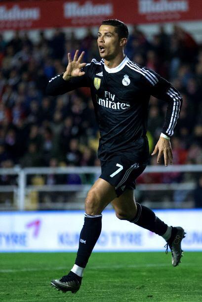 Cristiano es uno de los máximos goleadores del mundo con un total de 428.