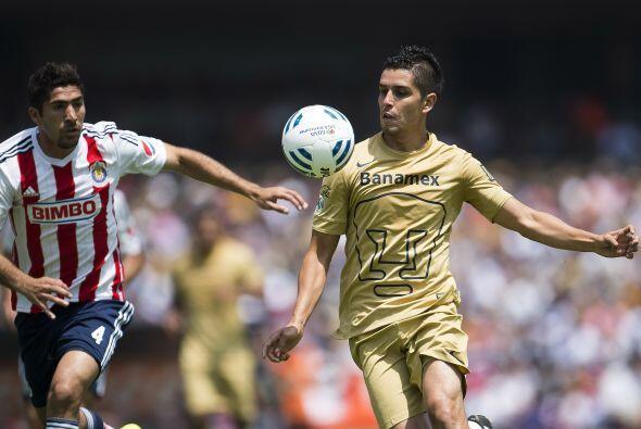 Otro de los que perdió la cabeza fue David Cabrera, el juvenil de Pumas...