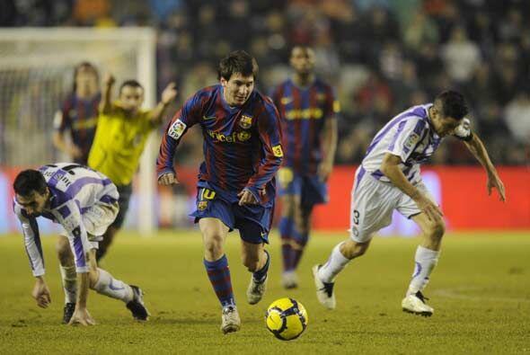 El Barça fue muy superior al Valladolid durante los 90 minutos.