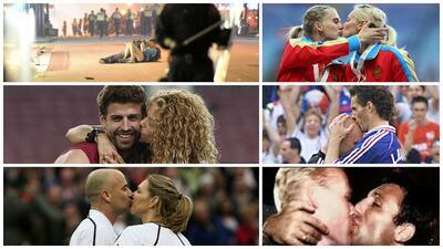Los besos más recordados de la historia del deporte