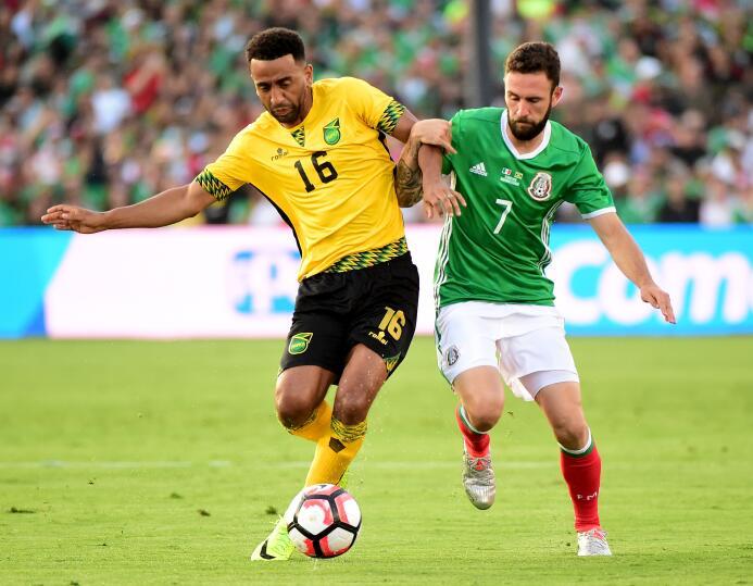 El ranking de los jugadores de México vs Jamaica 40-GettyImages-53913685...