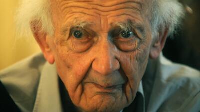 El filósofo polaco Sygmunt Bauman, fallecido en días pasados.