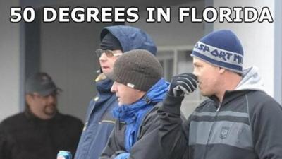 Los 'memes' más divertidos del frío en Florida