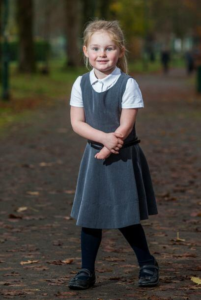 Ella es Abbi Jillians y tiene 4 años de edad.