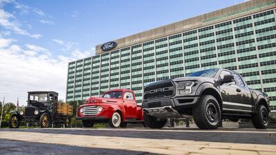 Un siglo de pickups Ford