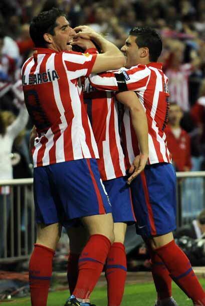 El marcador de 1-0 ya no cambió y con esto el Atlético espera salir airo...