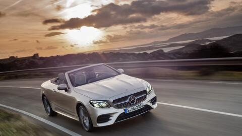 Mercedes-Benz completa la línea del Clase E con la versión convertible