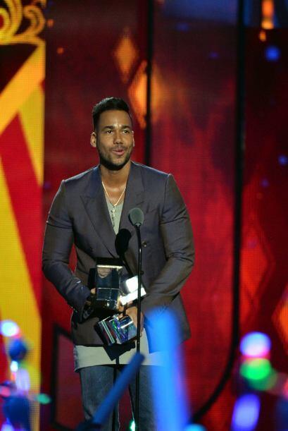 Además, Romeo salió vencedor en las categorías Video favorito y Artista...