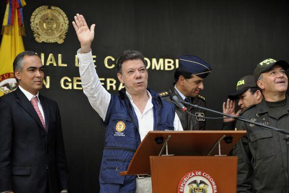 Santos se despidió orgulloso y ratificó que el gobierno pagará una recom...