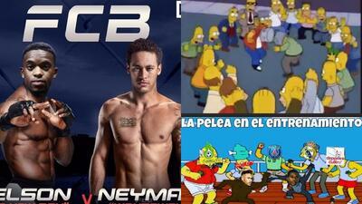 Memes de la pelea entre Neymar y Semedo en entrenamiento del Barcelona