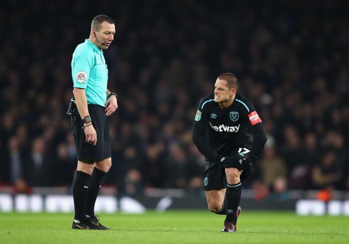 ¿Contará West Ham con 'Chicharito' contra Bournemouth en su último parti...