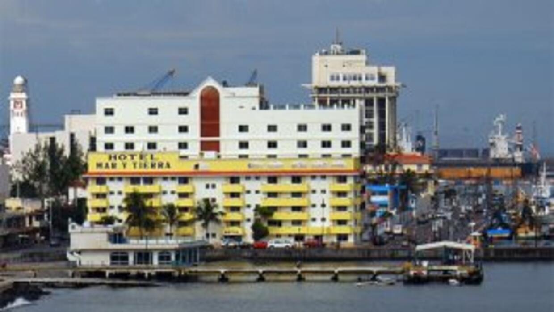 Club de Yates en el puerto de Veracruz, México