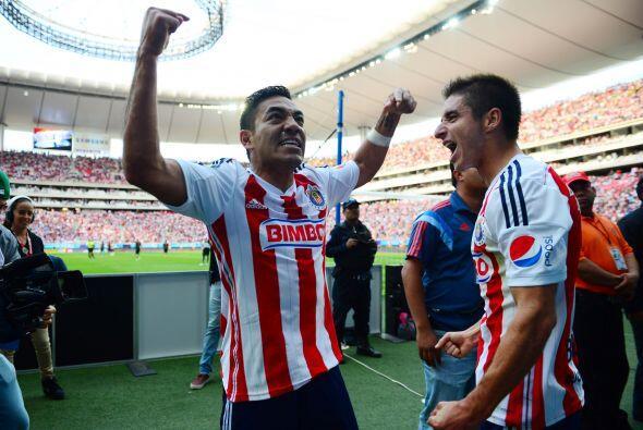 A principios de torneo el atacante de Chivas se hizo presente en el marc...