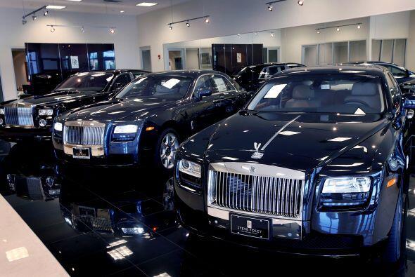 AUTOS/ ROLLS-ROYCE- Este fabricante de vehículos de lujo logró conquista...