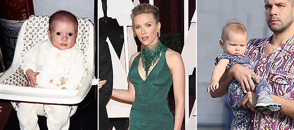 ¡Por fin pudimos ver a la hermosa bebé de Scarlett Johansson!