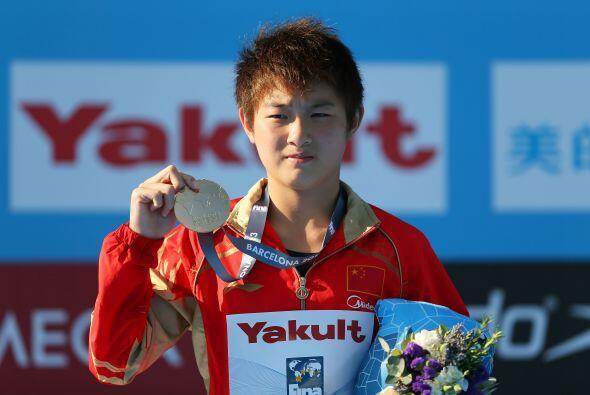 La china Si Yajie se colgó la medalla de oro en la modalidad de p...