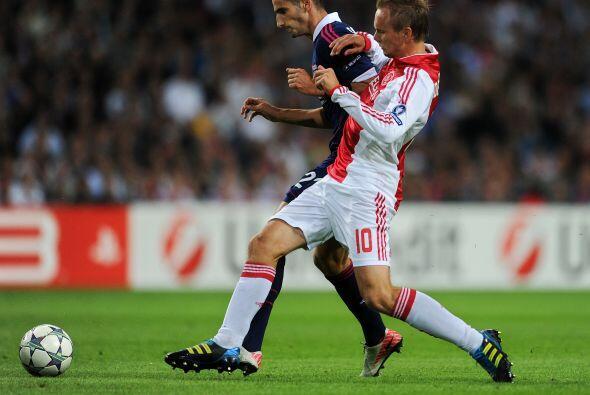 Ajax y Lyon empataron 0 a 0 y ahora la revancha será a todo o nada, en F...
