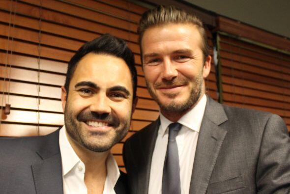 Beckham con Enrique Santos, personalidad, Mix 98.3 FM