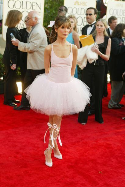 Lara Flynn Boyle se disfrazó de bailarina y logró su comet...