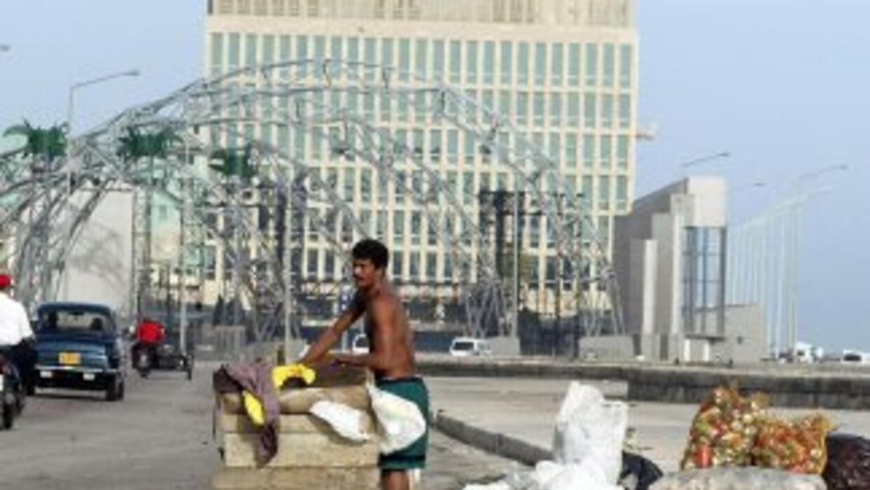 Imagen del Malecón de La Habana.