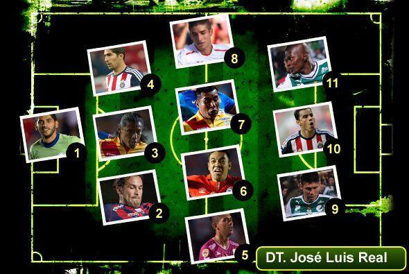 Te presentamos el once ideal de la jornada 7 del Clausura 2014, donde Om...
