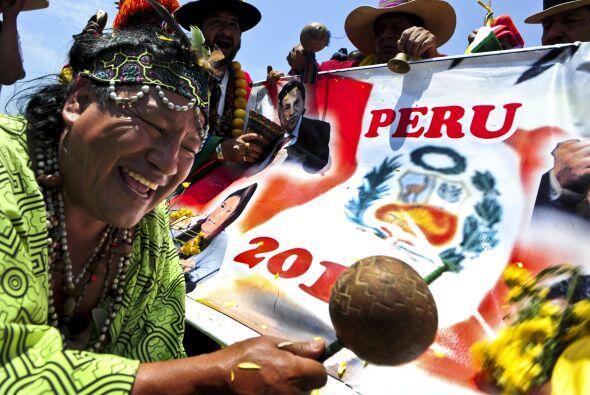 Los chamanes del Perú hicieron su ritual de predicciones para el  2011....