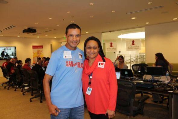 Richard Silva es uno de los oyentes que compartió con el equipo de WKAQ5...