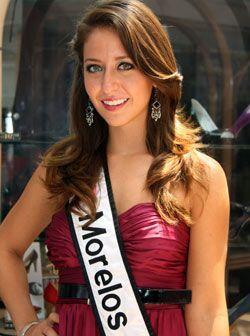 Anaís Aguilar Macedo de 18 años es Nuestra Belleza Morelos 2009.