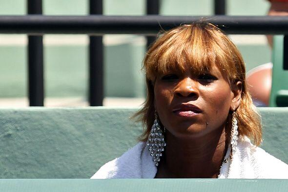 Su hermana Serena estaba muy nerviosa porque veía a Venus sufrir en la c...