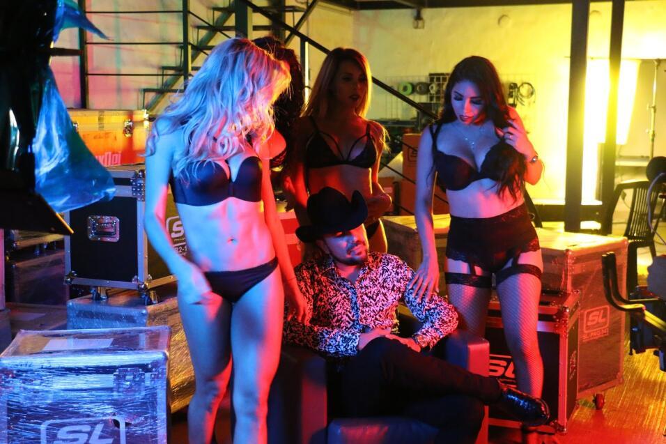 Estas cuatro modelos intentarán 'seducir' a Fidel Rueda en su nuevo vide...