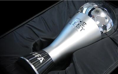 El trofeo 'The Best' fue presentado por FIFA