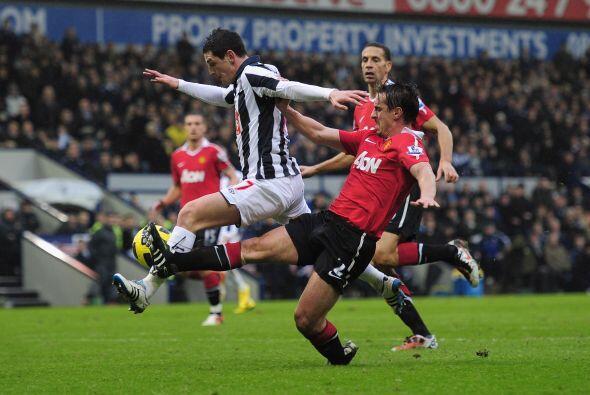 En el primer partido del 2011 disputado en Inglaterra, Manchester United...