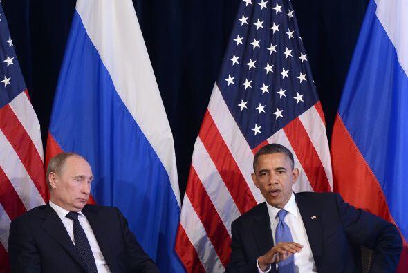"""Putin admitió que ambos encontraron """"puntos de consenso"""" sobre Siria y e..."""