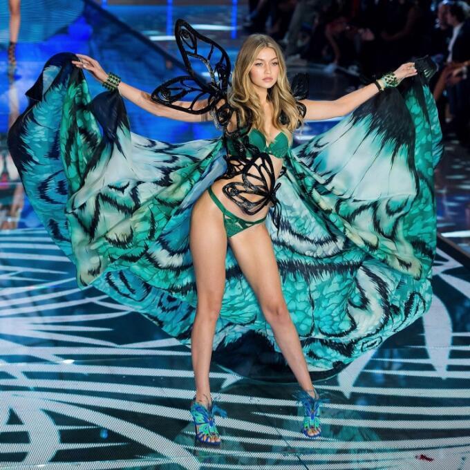 La bella modelo estadounidense robó las miradas de los seguidores del Br...